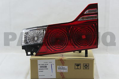 8158158070 Genuine Toyota LENS AND BODY, REAR LAMP, RH 81581-58070
