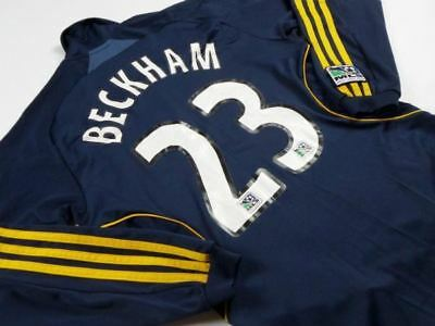 2008-2009 La Galaxy Away (Youth Large) - Beckham #23