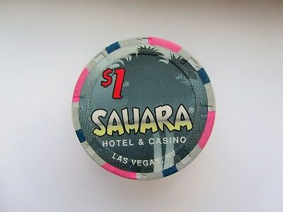SAHARA Casino - Las Vegas, NV -  OBSOLETE CASINO CHIP