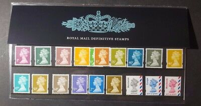 * Great Britain Stamp Collection Qe2 2005 Definitive Presentation Pack #71 Mnh *