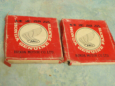 "Honda CX500 new unused genuine OEM Honda piston rings GL500  .025"" oversize."