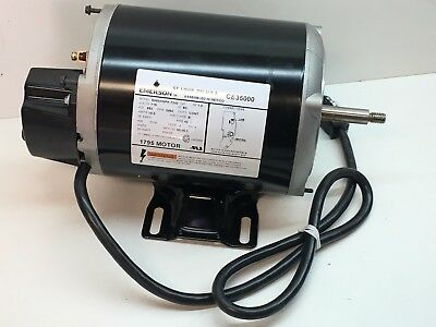 Emerson CE35000 Jacuzzi Hot Tub Motor/Pump 115V 3450RPM (Motor Only)