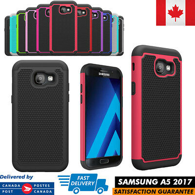 Samsung Galaxy A5 2017 Case Hybrid ShockProof Defender Protective Rugged Cover