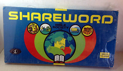 Vintage Board Game: Shareworld - The Bible Society Game, J.R. Payne 1975 (6114)