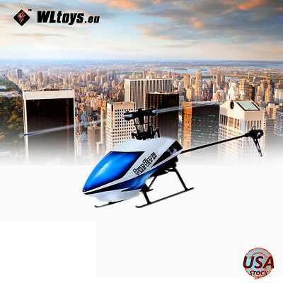 WLtoys V977 X1 6CH 2.4G Brushless Power Star 3D Flybarless BNF RC Helicopter US