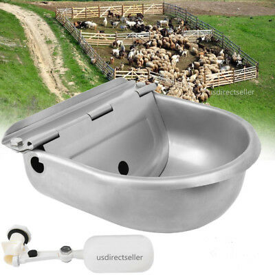 Farm Grade Automatic Horse Cattle Goat Sheep Dog Stainless Stock Waterer