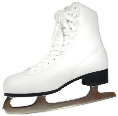 (11, White) - American Athletic Shoe Women's Tricot Lined Ice Skates