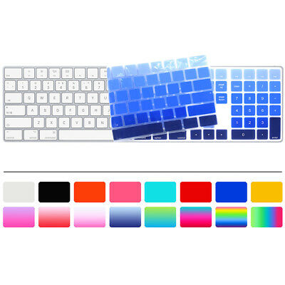 Silicone Keyboard Cover Skin Protector For Apple Magic Keyboard A1843 New 2017