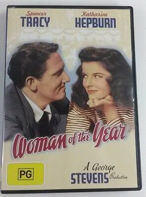 Woman Of The Year (DVD, 2008) Katherine Hepburn Spencer Tracy
