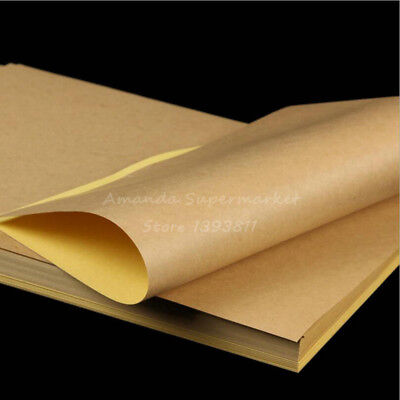 A4 Label Sticker For Laser Printer and Inkjet Printer Kraft Self adhesive 100pcs