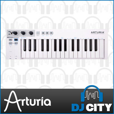 Arturia Keystep White Portable Poly Step Sequencer Controller Keyboard USB MIDI