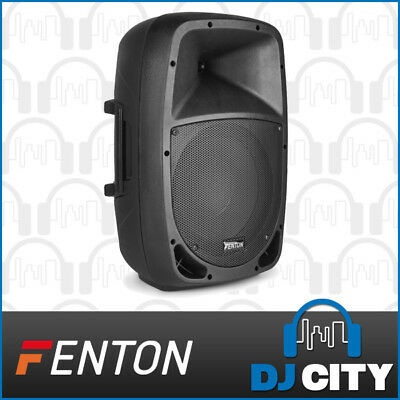 Fenton FTB1000A Powered Active 10 Inch PA DJ Party Speaker 200W w/ Mixer