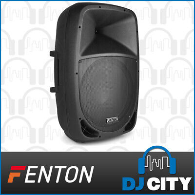 Fenton FTB1500A Powered Active 15 Inch PA DJ Party Speaker 350W w/ Mixer