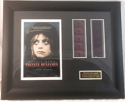 Low Numbered 2 Of 250 Framed 35Mm Film Cell Goldie Hawn Private Benjamin Number