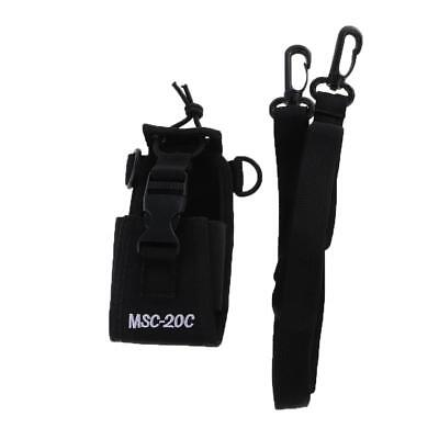 Walkie Talkie Two-way Radio Case Holster Bag For Motorola Kenwood Baofeng