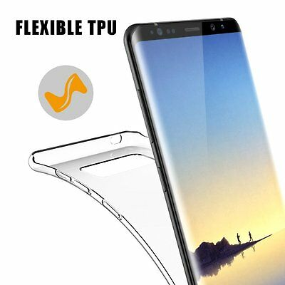 Ultra Thin Silicone Case For Samsung Galaxy Note 8 & S8 Plus TPU Gel Back Cover
