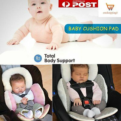Newborn Baby Car Seat Stroller Cushion Pad Liner Mat Head Body Support Pillow OB