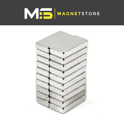 Block 10 x 5 x 2 mm Neodymium Magnets N52 SUPER STRONG Powerful DIY Craft Square