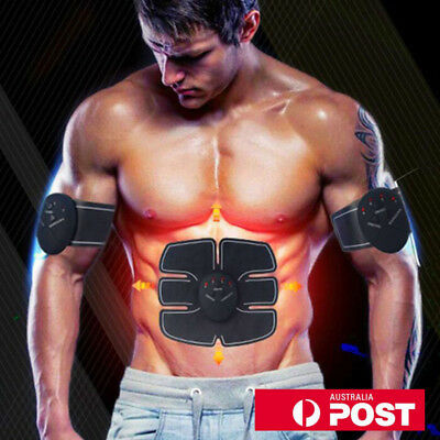 Halloween EMS Muscle Training Gear ABS Exercise body Shape Fitness Home Gym 【AU】