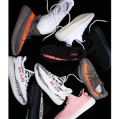 AU YeezyBoost 350 V2 Sports Trainers Fitness Gym Running Shock Shoes Sneakers