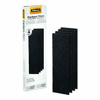 Genuine FELLOWES AeraMax Carbon Filters Set 4 DX5 DB5 Small Air Allergy Dust