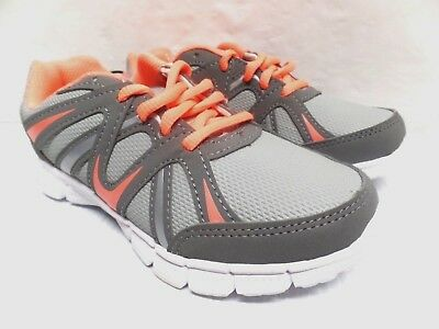 Danskin Girls Athletic Shoes Color Gray Peach Kids School Shoes Casual