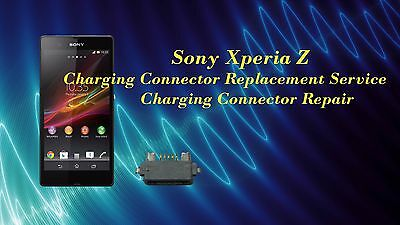 Sony Xperia Z Charging Connector/ USB Port Replacement Repair Service