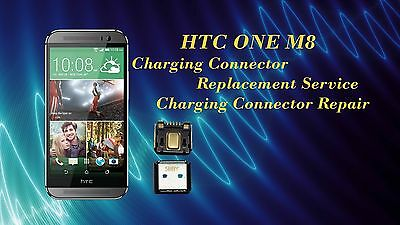 HTC One M8 Charging Connector/ USB Port Replacement Repair Service