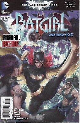 BATGIRL #11 DC Comics 2012 NEW 52 1st Print  Joss Whedon Movie JLA New 52