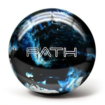 (6.4kg, Blue/Black/White) - Pyramid Path Bowling Ball. Delivery is Free