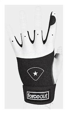 (YM) - Forceout Pro Catchers Protective Inner Glove Baseball/Softball