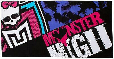 Monster High Beasties Kids Beach Towel Great For Girls Bath Holiday 70cm x 140cm