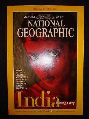 National Geographic May 1997 - India