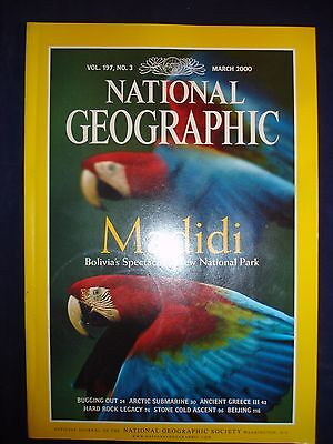 National Geographic - March 2000 - Madidi