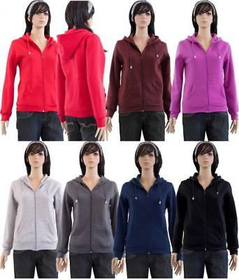 Women's Hoodies Case Pack 48 Assorted Colors and Sizes Hooded Sweat Shirts