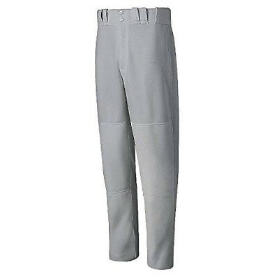 (2XL Youth, Gray) - Mizuno Select Relaxed Fit Youth Baseball Pant - Grey (Grey)
