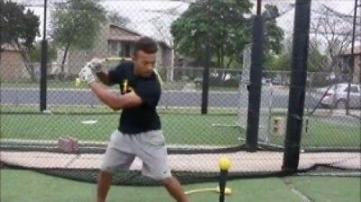 (Youth 12U) - The Rope Bat Hitting System - Finally Get the Perfect Swing. R & B