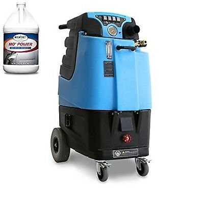 LTD12 Speedster Carpet Extractor and Two Cases (8 Gallons) of Mo' Power Carpe...
