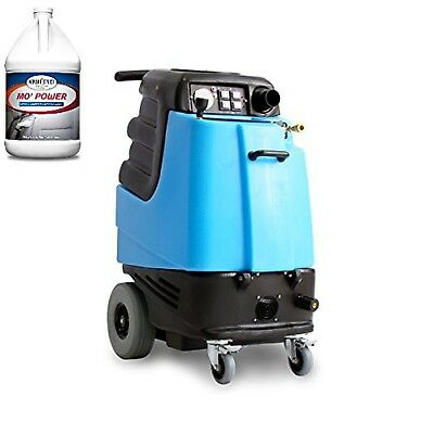 1003DX Speedster Deluxe Heated Carpet Extractor and Two Cases (8 Gallons) of ...