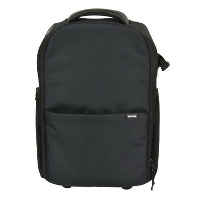 Vivitar Large Camera Case With Wheels Backpack, Suitcase, Trolley For Traveling