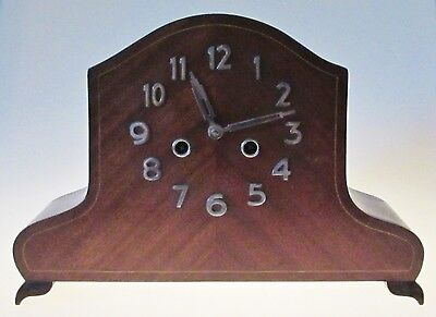 Grand Vintage Art Deco Chiming Mantle (Mantel) Clock