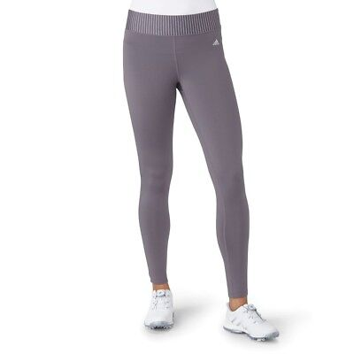 (X-Large, Trace Grey) - adidas Golf Women's Range wear Cropped Leggings