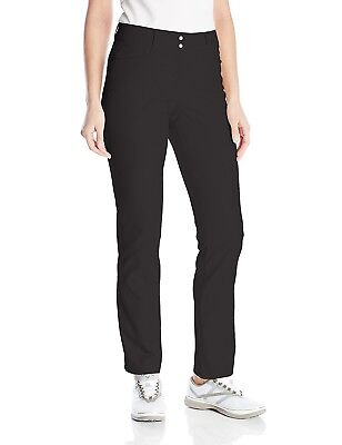 (10, Black) - adidas Golf Women's Essentials Lightweight Full Length Pants