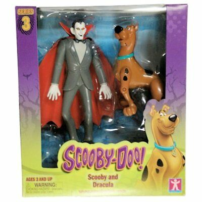 Scooby Doo! Series 3 Scooby and Dracula Action Figures