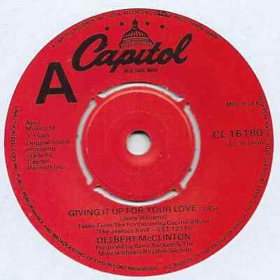 "Delbert McClinton - Giving It Up For Your Love - 7"" Single"