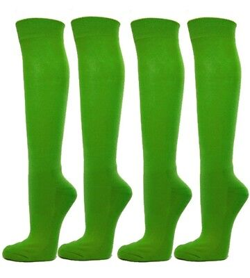 (Small, Bright Green) - Knee High Premium Quality Sports Athletic Baseball