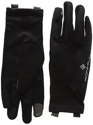 (Small, Black) - Ronhill Sirocco Gloves. Free Shipping