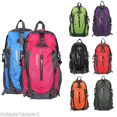 NEW Outdoor Sports Bag Hiking Backpack Camping Travel Luggage Rucksack Nylon 40L