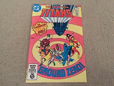 New Teen Titans #10 2nd Deathstroke The Terminator Appearance!