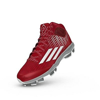 Adidas Power Alley 3 Tpu Mid Red/White 9. Best Price